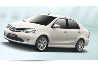Hire Toyota Etios for Pune to Mumbai taxi trip